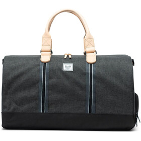 Herschel Novel Duffle black crosshatch/black